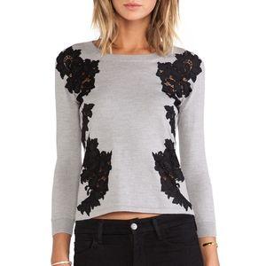 Diane Von Furstenberg Doreen Floral sweater
